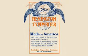 Remington 1900 Ad