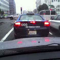 Evil seems to befall cab 666 — driver seeks Tax commission intervention