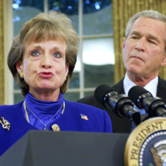 Bush orders Harriet Miers not to testify