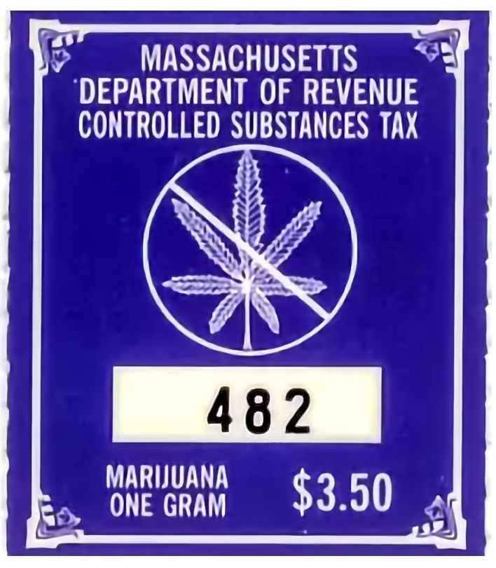 MA Tax Stamp Weed