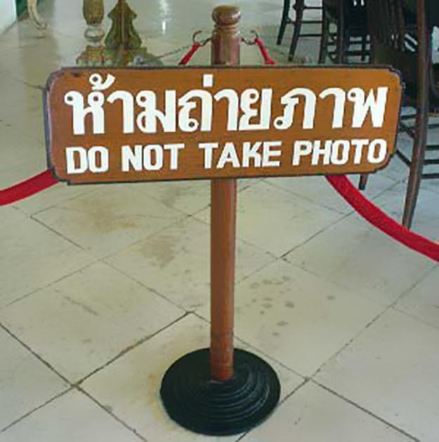 Photo of Thai sign