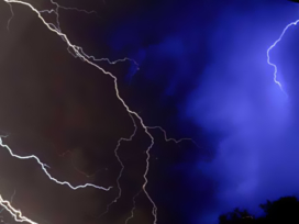 Religious Book Seller Struck By Lightning