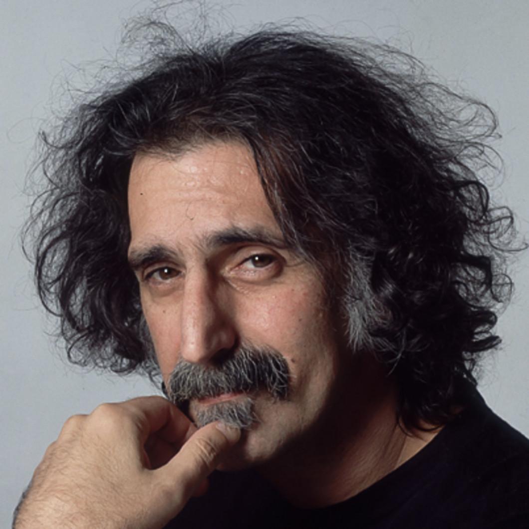 Zappa. His eyes say it all.