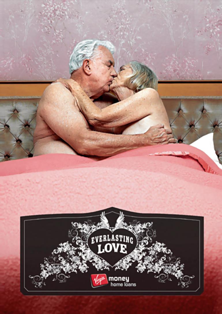 Virgin Home Loans Advertisements reveal octogenarian orgies in the bedroom