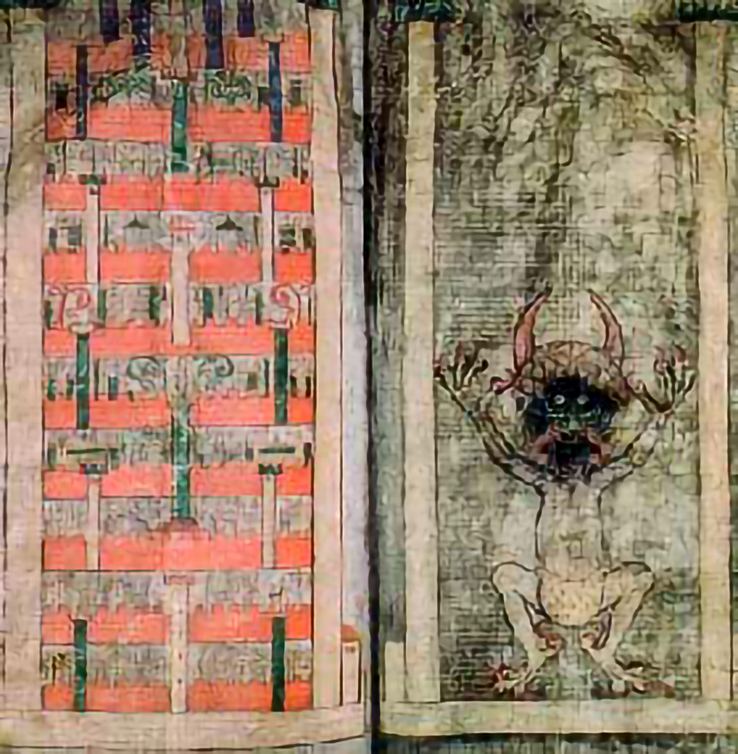 illustration from the devil's bible