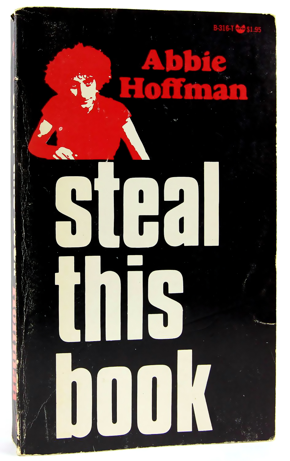 """A thief has stolen the book """"Steal this Book"""" from a modern art exhibition in Switzerland."""