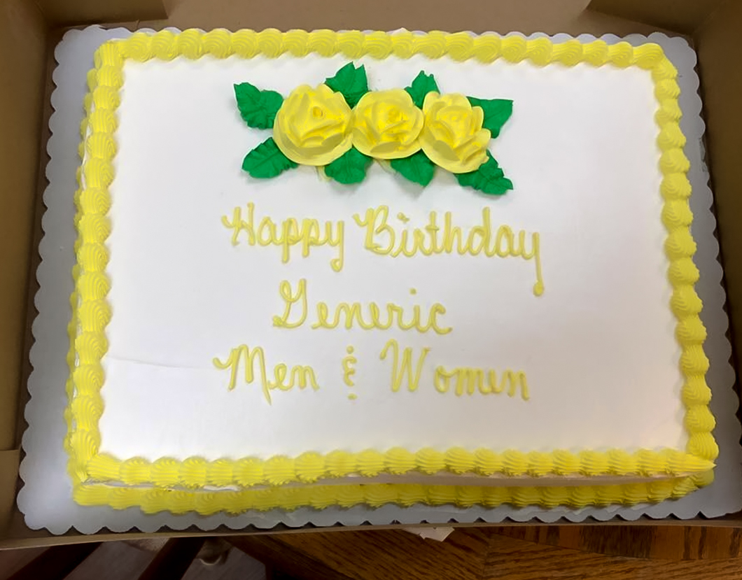 Superb Walmart Custom Cakes What Could Possibly Go Wrong Puppies And Funny Birthday Cards Online Alyptdamsfinfo