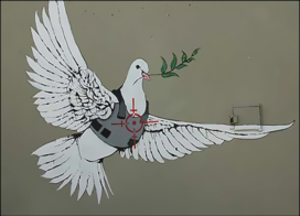 Banksy returns to Bethlehem