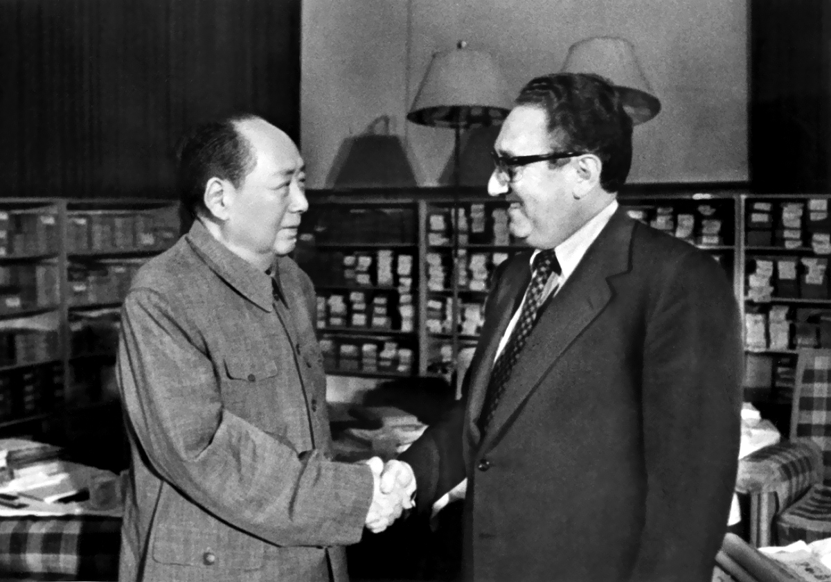 "Mao to Kissinger : ""Do you want our Chinese women?"" he asked. ""We can give you 10 million."""