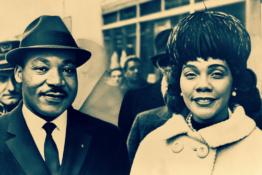 Dr & Mrs Martin Luther King Jr.