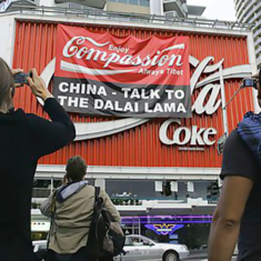 Coca Cola sponsorship as flashpoint for Tibet