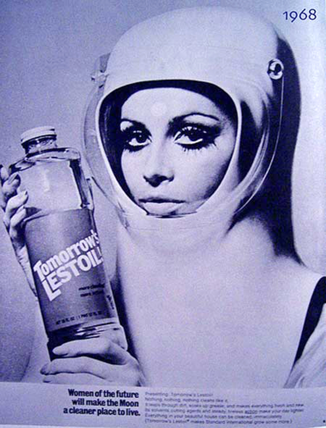 """""""Women of the future will use make the moon a cleaner place to live"""""""