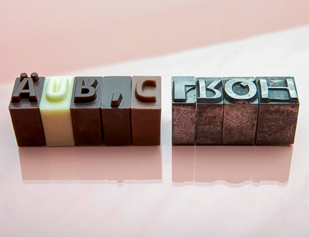chocolate type foundry
