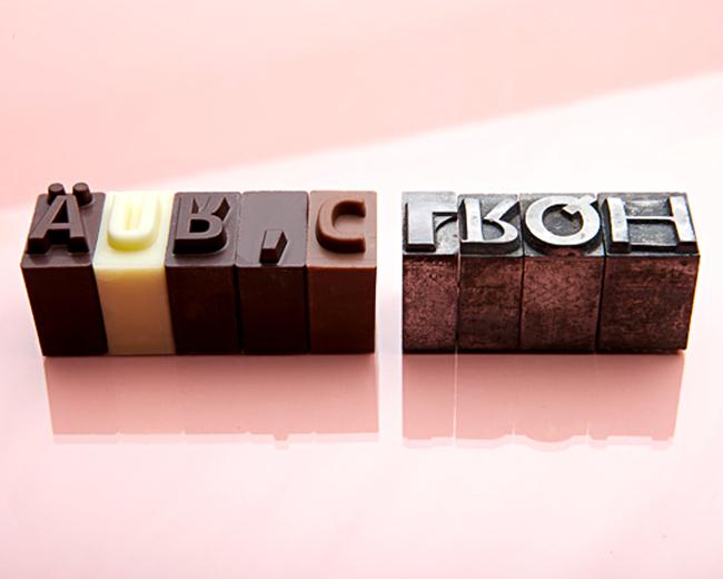 Chocolate Type Foundry — brilliant idea!