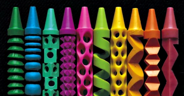 Crayon Carving Example #2