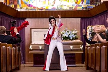 Fun Funeral Elvis Impersonator