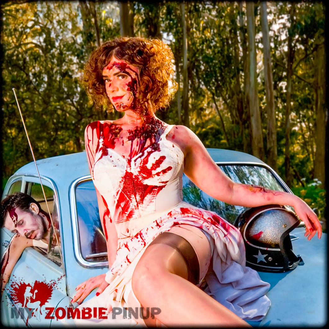 My Zombie Pinup Calendar 02/12