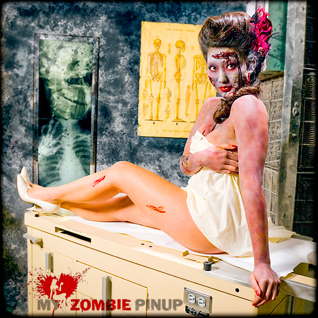 My Zombie Pinup Calendar 05/12