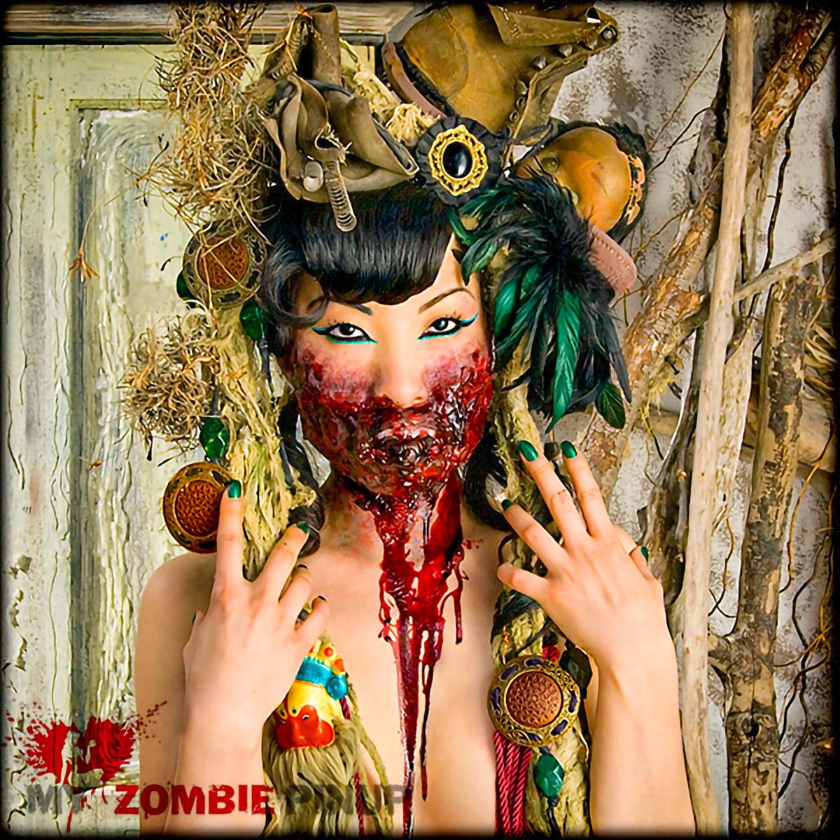 My Zombie Pinup Calendar 06/12