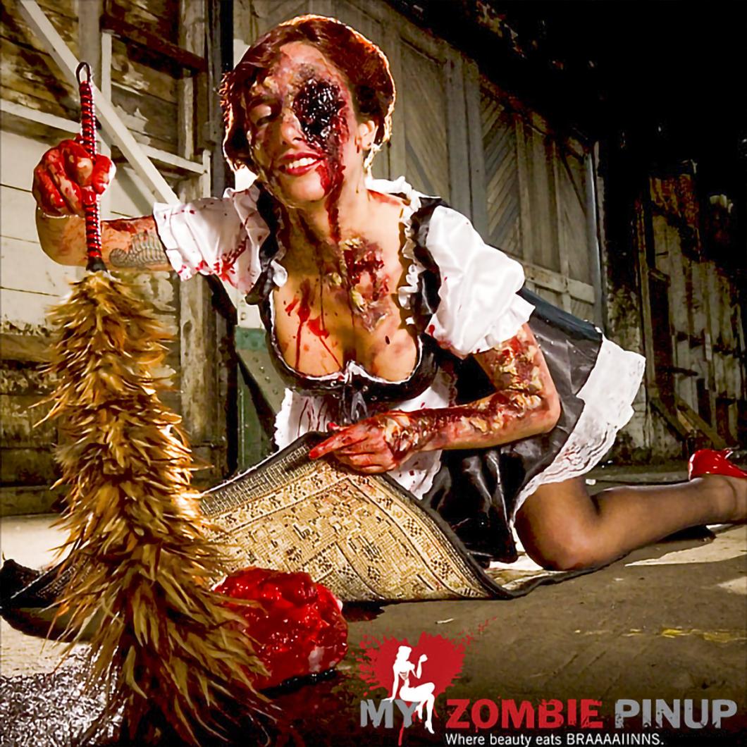 My Zombie Pinup Calendar 09/12