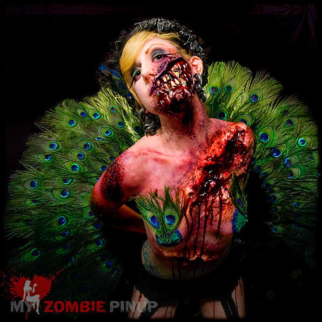 My Zombie Pinup Calendar 11/12