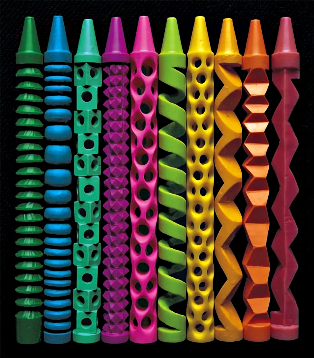 Peter Goldlust Crayon Carver