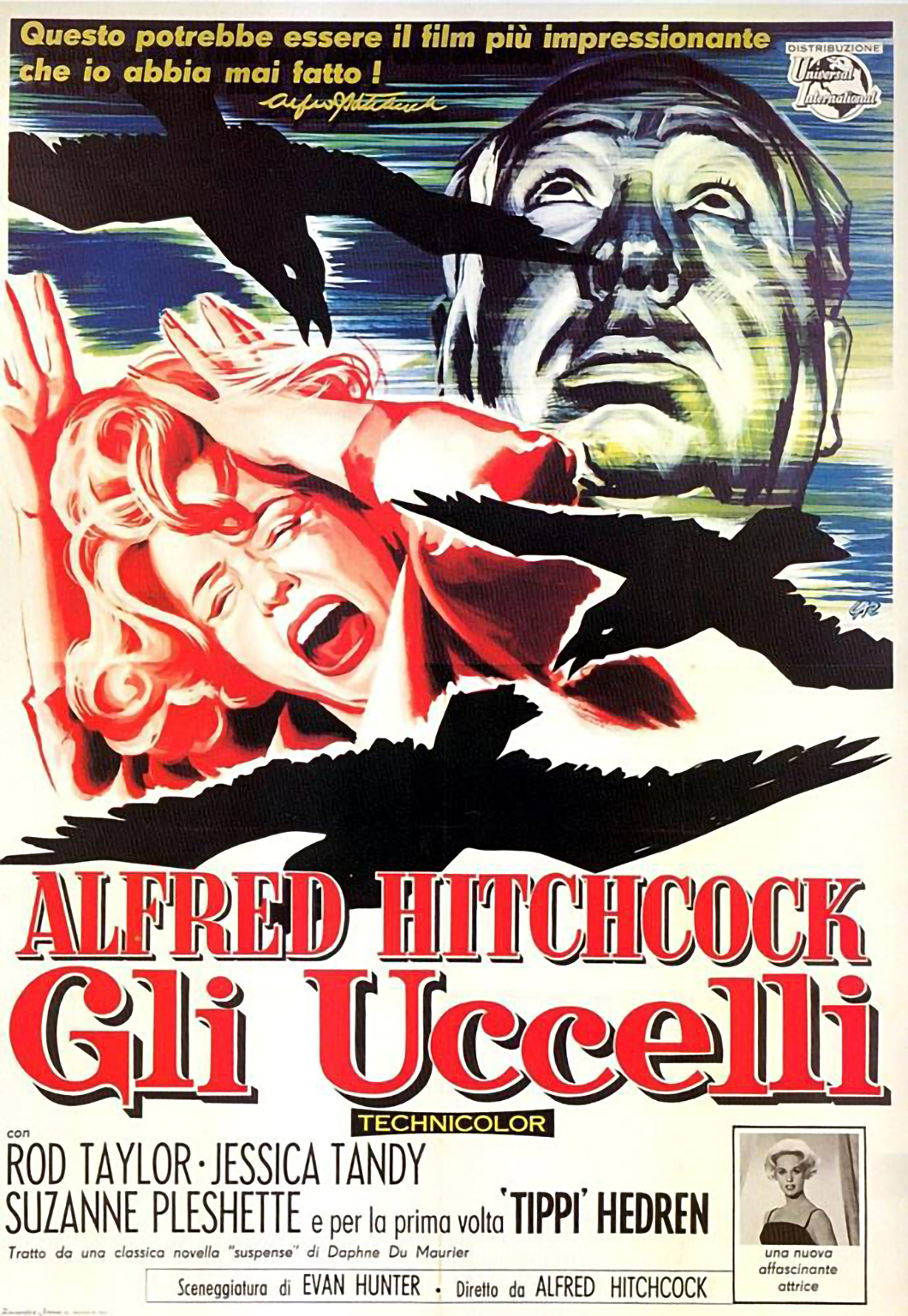 Hitchcock's The Birds Poster