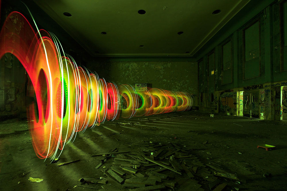 Light Painting Artist JanLeonardo
