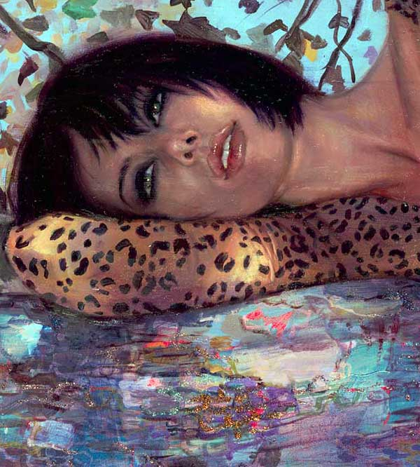 "The Paintings of Natalia Fabia — ""Hooker Safari"""