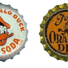 Found collection — Vintage bottle caps