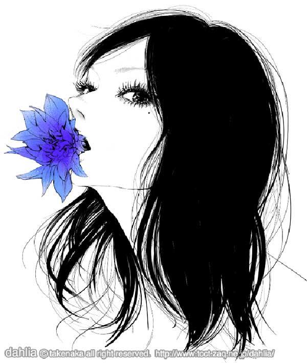 The illustrations of Dalhia Takenaka