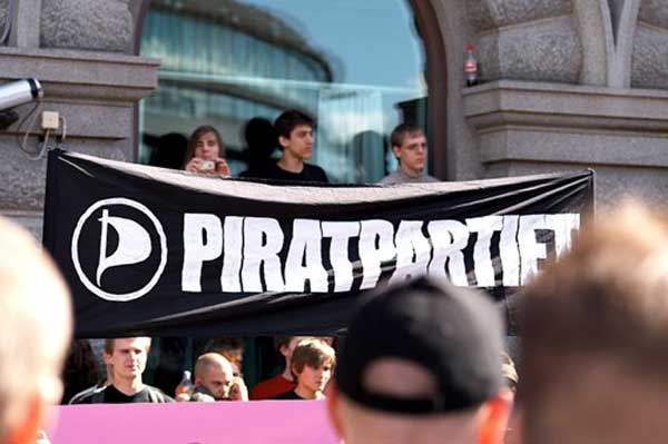 Sweden's Pirate Party wins EU seat.