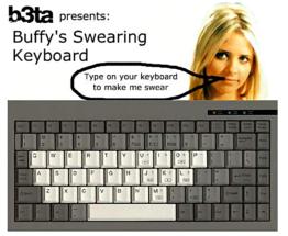 Swearing Keyboard