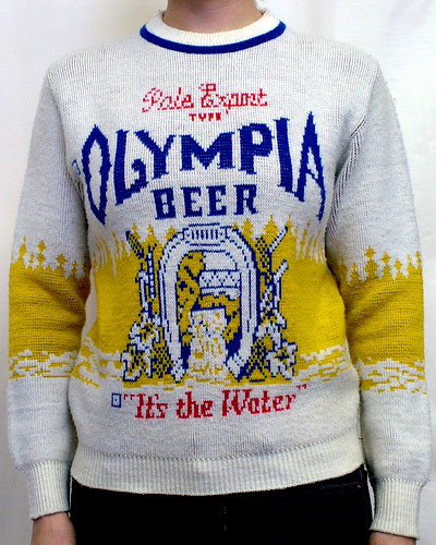 Just in time for Fall, beer sweaters