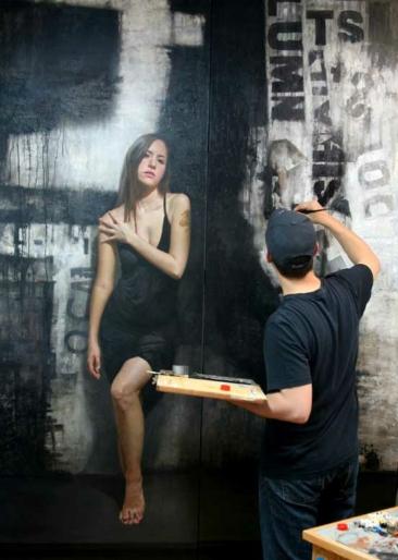 The Paintings of David Kassan 01