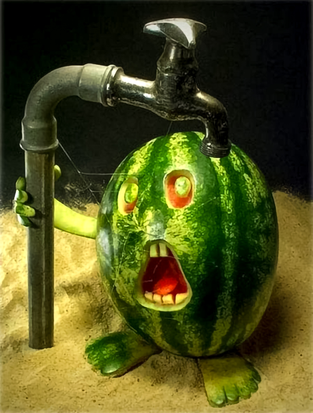 Screaming Watermelon
