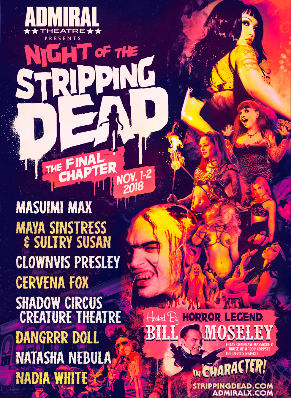 Night of the stripping dead