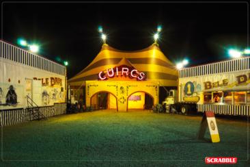 """2007, Mattel, Scrabble, Ogilvy, Mexico — """"Circus"""""""