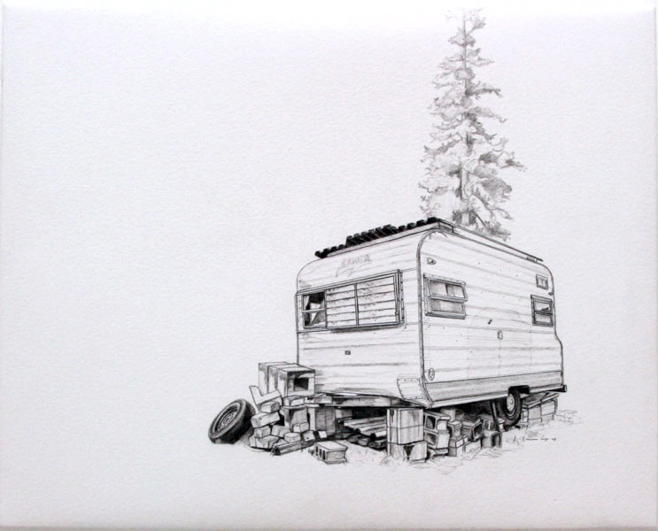 The RV Series — Drawings by Kevin Cyr
