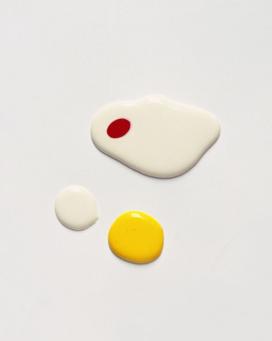 Klas Ernflo – strangely compelling paint drops