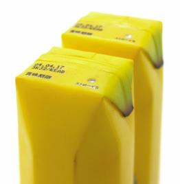 Banana Juice, nice packaging design. Wait, what juice?