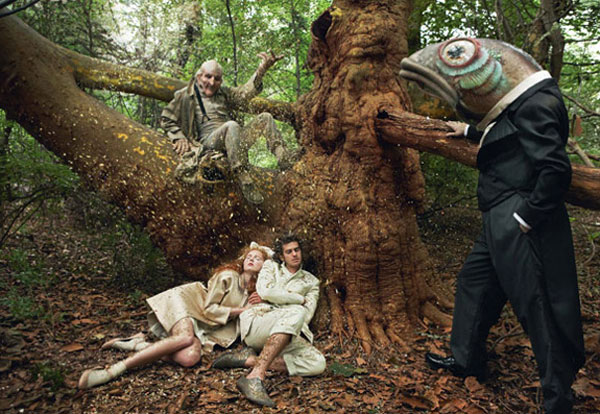 Annie Leibovitz shoots Hansel and Gretel