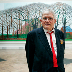 David Hockney — The Colors of Music