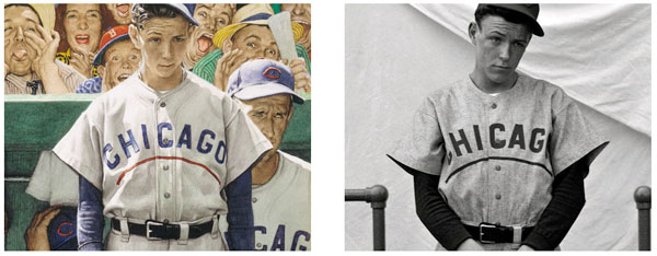 Norman Rockwell's Photographic References