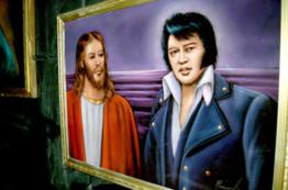 he similarities between Jesus Christ and Elvis Presley are almost uncanny