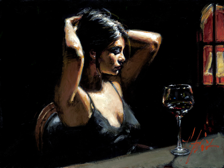 Selection of works by Argentinean artist Fabian Perez