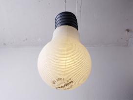 Bulb Lantern by Kyouei Design