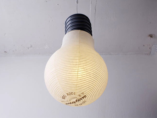 Bulb Lantern by Kyouei Design