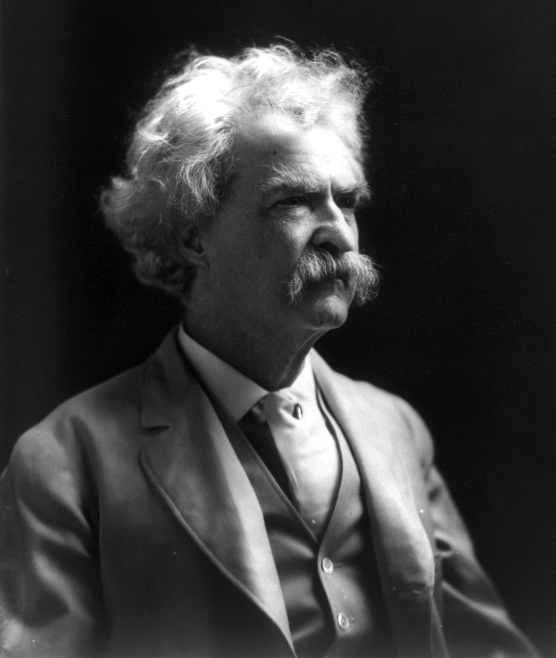 Mark Twain left instructions not to publish his autobiography until 100 years after his death, which is now.