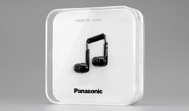 Just look at this lovely packaging design for Panasonic ear-buds
